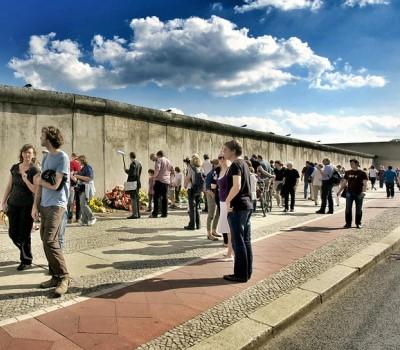 Schoolexcursie De Berlijnse muur