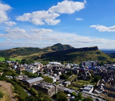 Schoolexcursie Edinburgh Arthur's Seat
