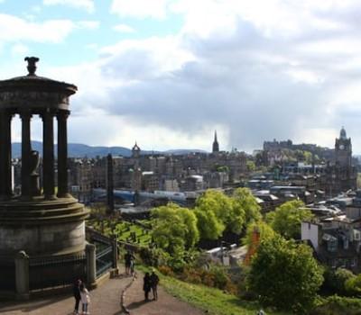 Schoolexcursie Edinburgh Calton Hill
