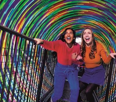 Schoolexcursie Edinburgh Camera Obscura & World of Illusions