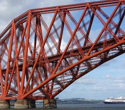 Schoolexcursie Edinburgh Forth of Forth Cruise