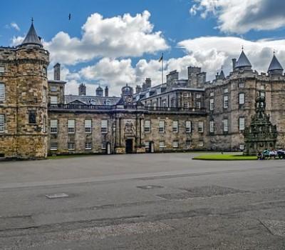 Schoolexcursie Edinburgh Holyroodhouse Palace