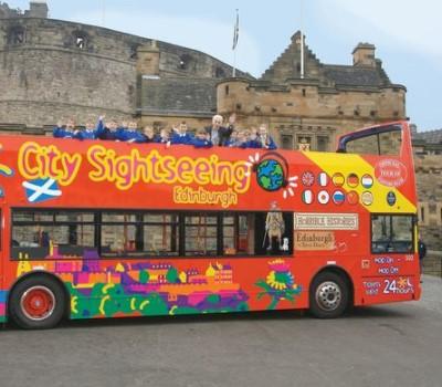 Schoolexcursie Edinburgh Hop on Hop off