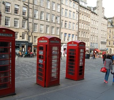 Schoolexcursie Edinburgh Royal Mile