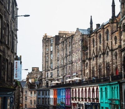 Schoolreis Edinburgh Stadswandeling