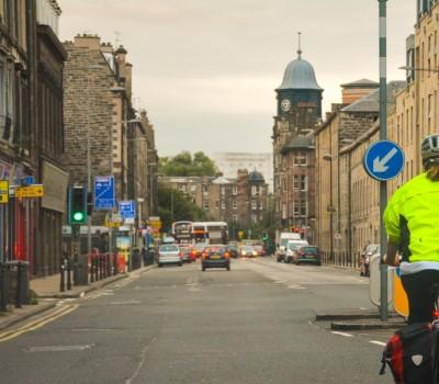 Schoolexcursie Edinburgh fietstocht