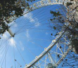 Schoolexcursie Londen London Eye