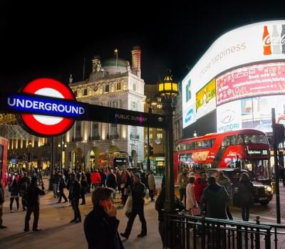 Schoolexcursie Londen Piccadilly Circus