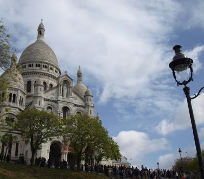 Schoolreis Parijs Sacre Coeur