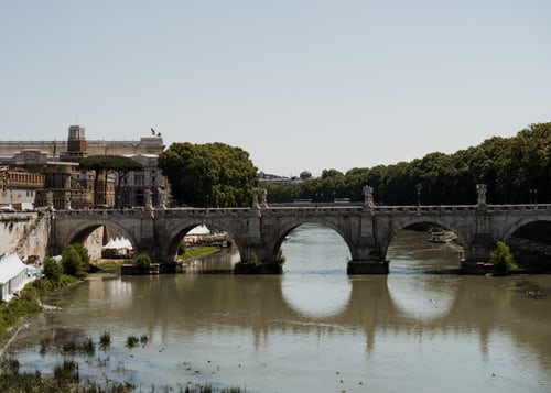 Schoolexcursie Rome Engelenbrug