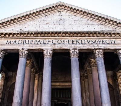 Schoolexcursie Rome Pantheon