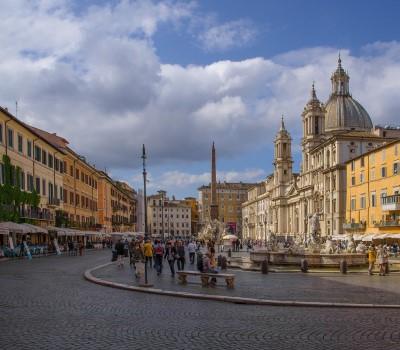Schoolexcursie Rome Piazza Navona