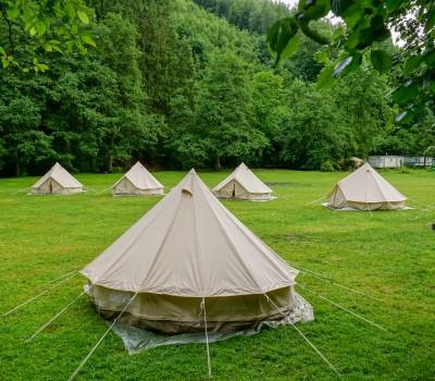 Ardennen schoolkamp tentenkamp